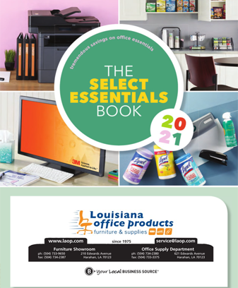 Click Here for 2021 Select Essentials Book